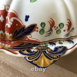 Lovely Davenport Cobalt Blue & Gold Imari Style Covered Serving Dish