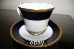 New Noritake Valhalla Legacy China Cobalt Blue/gold/white Dinnerware Lot 2799