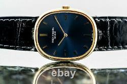 PATEK PHILIPPE ELLIPSE D'OR Ref 3848 Ellipse Manschettenknöpfe blue Cobalt
