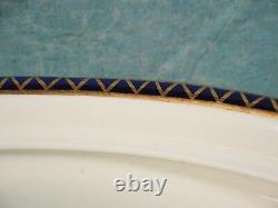 ROYAL CROWN DERBY KINGS IMARI TUREEN ANTIQUE 1908 Cobalt Gold Blue