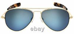 Randolph Cobalt Concorde Polarized Blue Mirror Sunglasses
