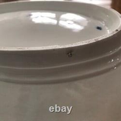 Antique Cobalt Bleu Et Or Gilt Meissen Centerpiece Bowl 14