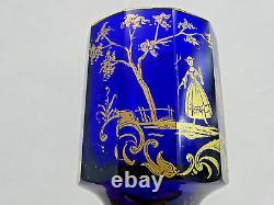 Magnifique Antique Imperial Russian Doré Glass Beaker Cup Goblet Début 19 Cen