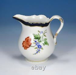 Meissen Flower 2 Cobalt/gold Mocha Service Pour 6 Personnes 1. Wahl
