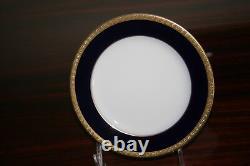 Nouveau Noritake Valhalla Legacy China Cobalt Blue/gold/white Dinnerware Lot 2799