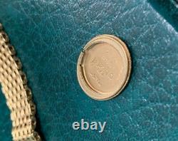 Patek Philippe Ellipse, 1976, 18k Or Jaune Dames Montre 4178/2, Cadran Cobalt