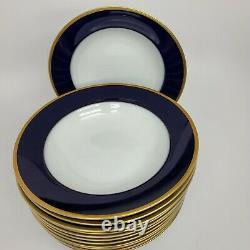 Rosenthal Regency Cobalt/gold Classic Rose Soupe Bols (12) Similaires Claudine