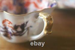 Wileman Foley Daisy Cobalt Gold Imari Teacup Tasse De Thé Saucer Pre Shelley
