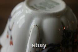 Wileman Foley Daisy Cobalt Gold Imari Teacup Teacup Soucoupe Pré Shelley